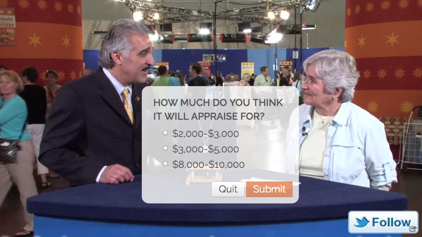 Antiques Roadshow - Tiffany &amp; Co watch appraisal